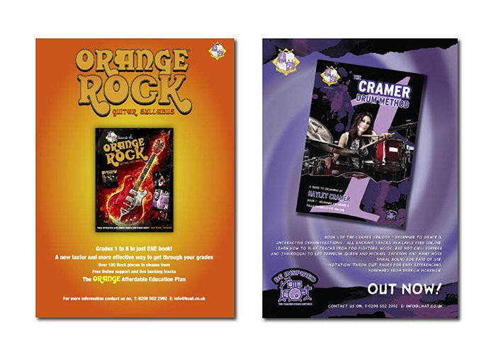 advertising orange 500
